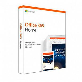 Pacote Office 365 home brazilian fpp - 6gq-00952
