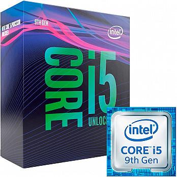 Processador Intel 9600k core I5 (1151) 3,70 GHZ BOX - BX80684I59600K