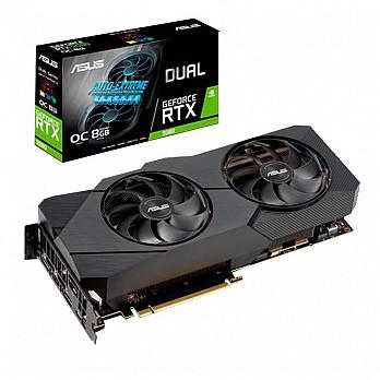 Placa de Vídeo Asus NVIDIA GeForce RTX 2080 8GB D6 Dual A8G Evo - 90YV0CL1-M0NA00