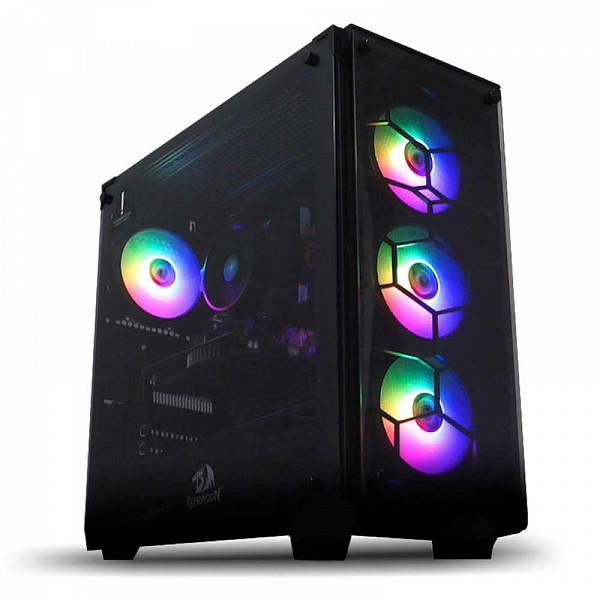 Computador Gamer Patoloco Lunatic Intel I7 10700, RTX 3080 10GB, DDR4 16GB, SSD 240