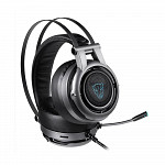 Headset Motospeed H18, LED, 7.1, Drivers 50mm, Cinza - H18