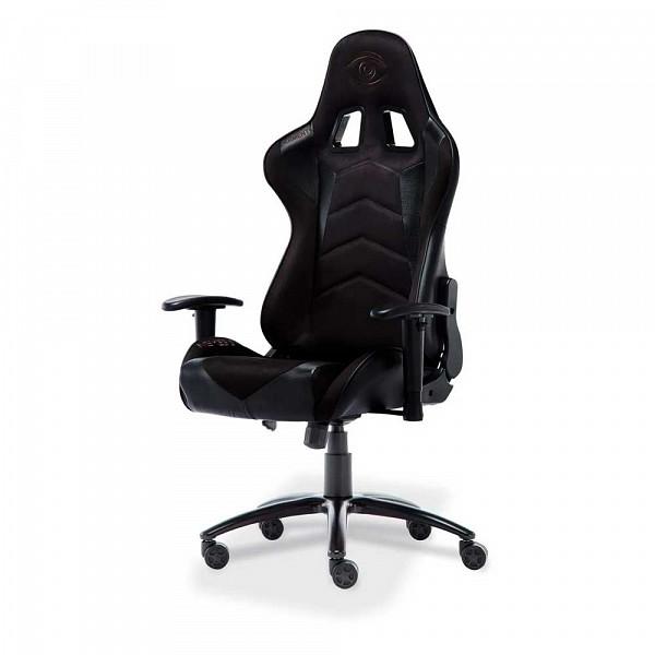 Cadeira Gamer Elements Veda Nemesis, Versão Suede, Black