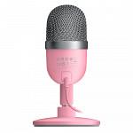 Microfone Razer Seiren Mini, USB, Quartz Pink - RZ19-03450200-R3M1