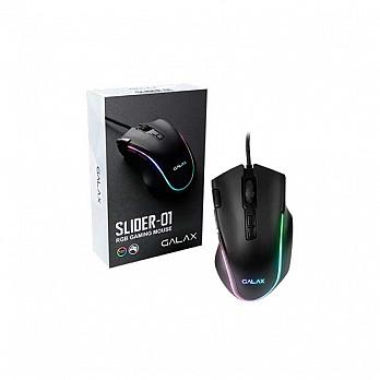Mouse Gamer Galax Slider Series Sld-01 7200dpi/rgb/8 Botões/preto/usb - Mgs01ia18rg2b0