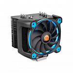 Cooler para Processador Thermaltake Riing Silent 12 PRO Blue Aluminio CL-P021-CA12BU-A