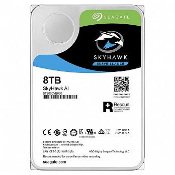 HD Seagate SkyHawk, 8TB, 3.5´, SATA - ST8000VE000