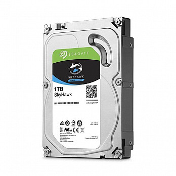 HD Seagate SkyHawk, 1TB, Cache 64MB, SATA 6.0GB/S, 3.5 IMP - ST1000VX005