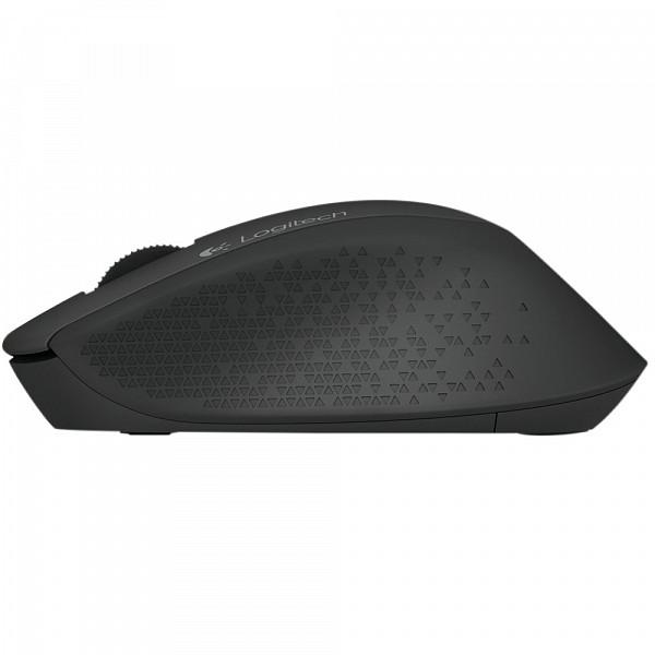 Mouse Logitech M280 Sem Fio Preto 1000 DPI