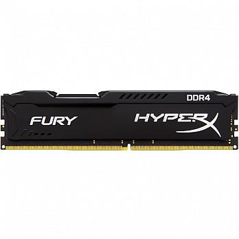 Memória Kingston HyperX FURY 4GB 2666Mhz DDR4 CL15 Black - HX426C15FB-4