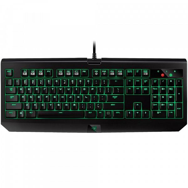 Teclado Mecânico Gamer Razer Blackwidow Ultimate Stealth 2016, LED Verde, Switch Razer Orange, US