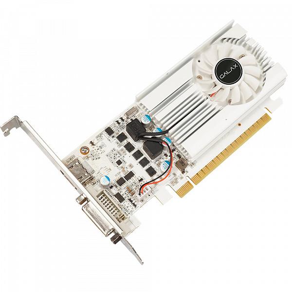 Placa de Vídeo Galax Geforce GT 1030 2GB DDR4 64BIT 1050MH 30NPK4HVS6XW