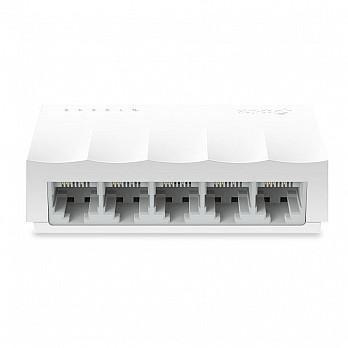 Switch de Mesa TP-Link Fast Lite Wave com 5 Portas Ethernet 10/100 Mbps, LS1005