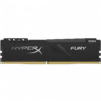 Memória HyperX Fury, 16GB, 2400MHz, DDR4, CL15, Preto - HX424C15FB3/16
