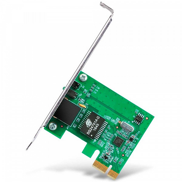 Adaptador de Rede TP-Link, Gigabit, PCI Express, 10/100/1000Mbps, RJ45, Rev. 3.0 - TG-3468