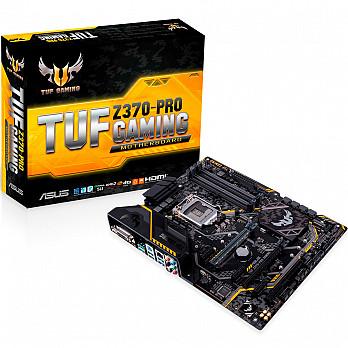 PLACA MÃE ASUS TUF Z370-PRO GAMING LGA1151 USB3.1 90-MB0VL0-M0EAY0 - INTEL