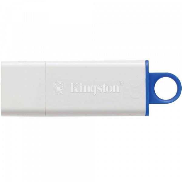 Pen Drive Kingston DataTraveler USB 3.0 16GB - DTIG4/16GB - Branco/Azul