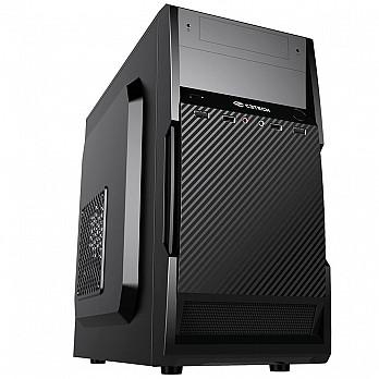 Gabinete C3 Tech com Fonte 200W, Micro-ATX, Preto - MT-25V2BK
