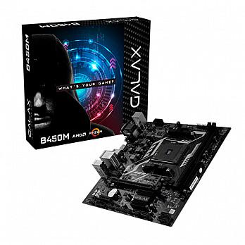 Placa Mãe Galax B450M, AMD AM4 M-ATX AB450MAGCHJ1CW