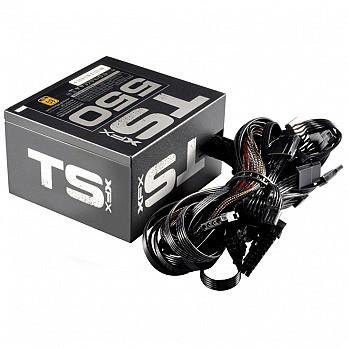 Fonte XFX TS Série, 550W 80 Plus Gold - P1-550G-TS3X