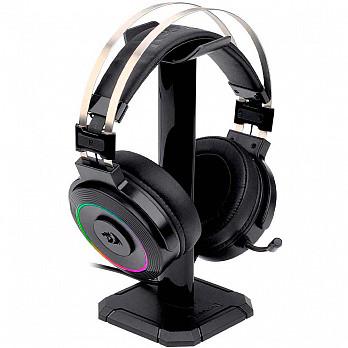 Headset Gamer Redragon Lamia 2, RGB, Drivers 40mm - H320RGB-1+ Suporte