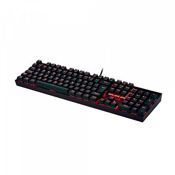 Teclado Gamer Redragon Mecânico Mitra com Anti-Ghost K551 ABNT2 Switch Outemu Vermelho