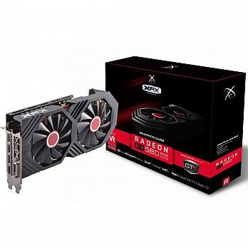 Placa de Vídeo XFX AMD Radeon RX 580 GTS OC+ 8GB, GDDR5 - RX-580P8DBD6