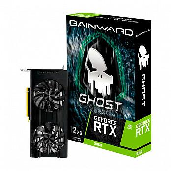 Placa de Vídeo GAINWARD GeForce RTX 3060 Ghost 12GB GDDR6 192Bits - NE63060019K9-190AU LHR