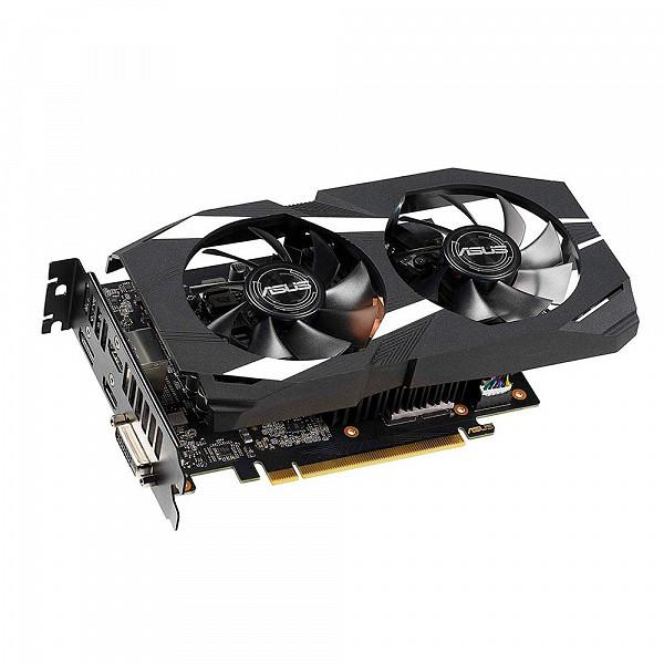 Placa de Vídeo Asus NVIDIA GeForce GTX 1660 Ti OC Dual 6GB, GDDR6 - DUAL-GTX1660TI-O6G