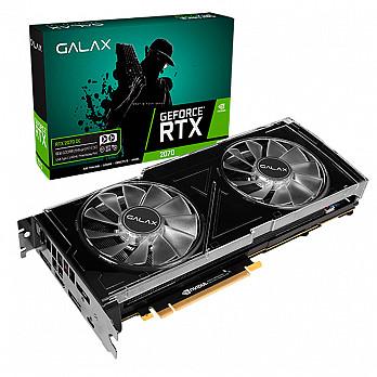 Placa de Vídeo Galax RTX 2070 OC 8GB 256BIT DDR6 14.000MHZ HDMI DP USB