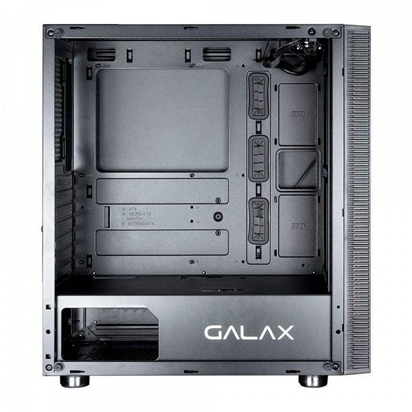 Gabinete Gamer Galax Quasar Black - GX600