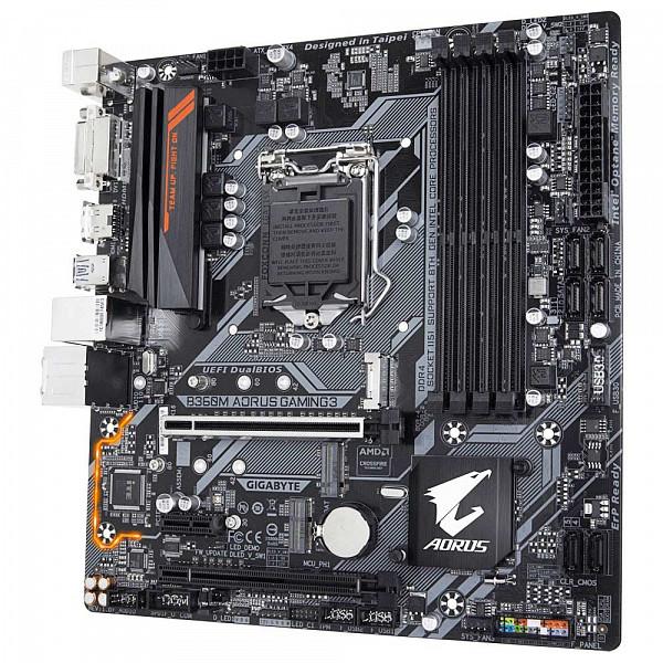 Placa-Mãe Gigabyte p Intel Lga 1151 mATX B360M Aorus Gaming 3 ddr4