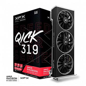Placa de Vídeo XFX Radeon RX 6700 XT Speedster QICK 319 12GB GDDR6 192bit GDDR6 - RX-67XTYPBDP