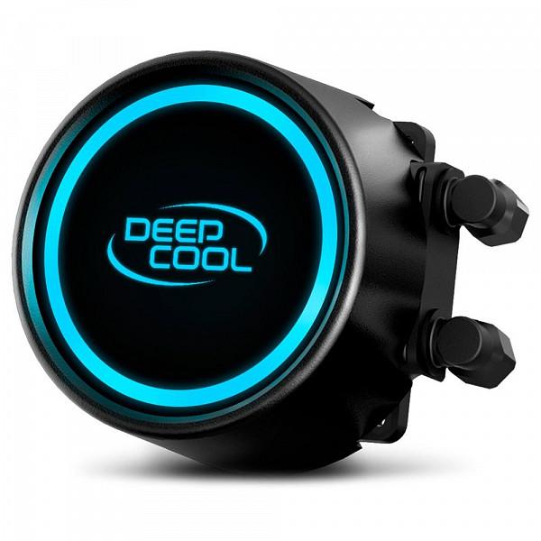 Water Cooler DeepCool Gammaxx L240T, LED Blue 240mm, Intel-AMD, DP-H12RF-GL240TB