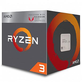 Processador AMD Ryzen 3 2200G c Wraith Stealth Cooler, Quad Core, Cache 6MB, 3.5GHz (3.7GHz Max Turbo), Radeon VEGA, AM4 - YD2200C5FBBOX