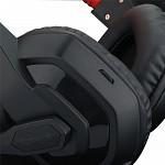 Headset Gamer Redragon Ares Preto e Vermelho P2 Com Microfone - H120