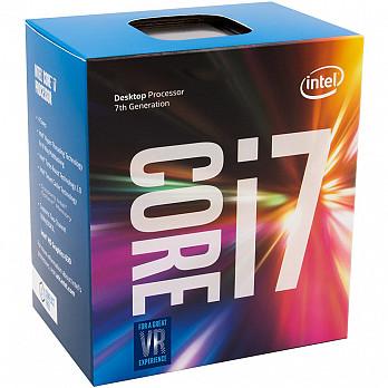 Processador Intel i7-7700K Kaby Lake 7a Geração, Cache 8MB 4.2GHz (4.5GHz Max Turbo), LGA 1151 Intel HD Graphics 630 BX80677I77700K