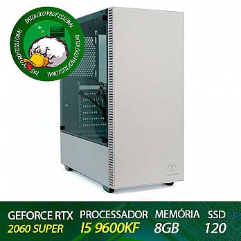 Computador Patoloco (Engenharia) i5 9600KF, RTX 2060 Super, 8GB DDR4, SSD 120