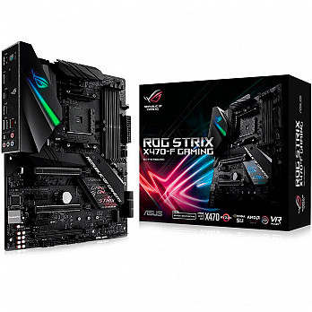 Placa-Mãe Asus ROG Strix X470-F Gaming AM4 90-MB0XH0-MOEAY0