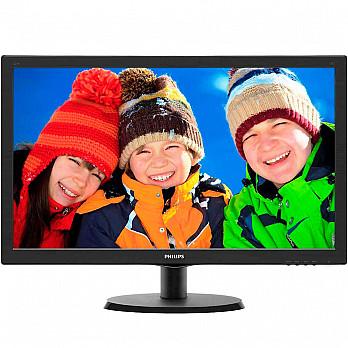 Monitor Philips LED 21,5´ Full HD 5ms SmartControl Inclinação -5-20º - 223V5LHSB2