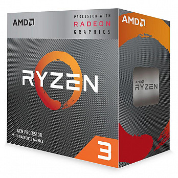 Processador AMD Ryzen 3 3200G, Cache 4MB, 3.6GHz (4GHz Max Turbo), AM4