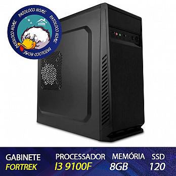 Computador Patoloco (Home) i3 9100F, GT 210, 8GB DDR4, SSD 120