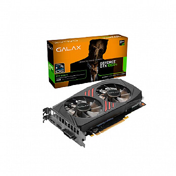 Placa de Vídeo Galax NVIDIA GeForce GTX 1050 Ti 1-Click OC, 4GB, DDR5, Dual Fan, Preto - 50IQH8DSQ3CC