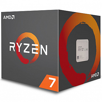 Processador AMD Ryzen 7 2700 c Wraith Spire Cooler, Octa Core, Cache 20MB, 3.2GHz (Max Turbo 4.1GHz) AM4 - YD2700BBAFBOX