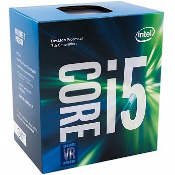 Processador Intel i5-7400 Kaby Lake 7a Geração, Cache 6MB, 3.0Ghz (3.5GHz Max Turbo), LGA 1151 Intel HD Graphics BX80677I57400