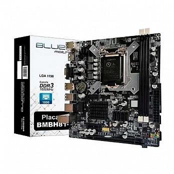 Placa Mãe Bluecase BMBH81 Intel Lga 1150 Chipset H81
