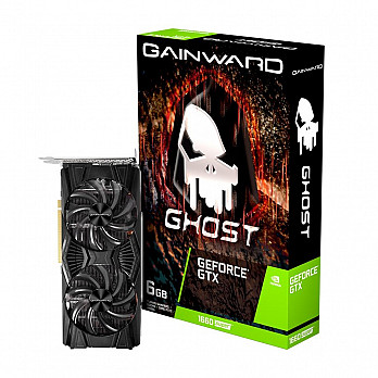 Placa de Vídeo Gainward NVIDIA GeForce GTX 1660 Super, 6GB, GDDR6, Ghost - NE6166S018J9-1160X