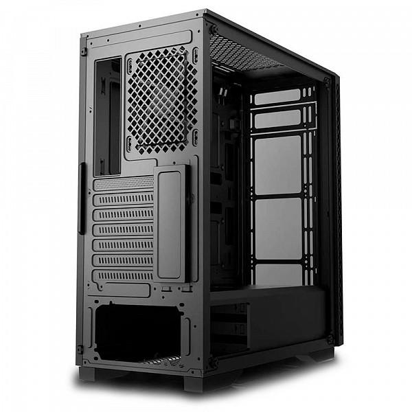 Gabinete Gamer Deepcool Matrexx 50, Mid Tower, RGB, Lateral e Frontal em Vidro - DP-ATX-MATREXX50 - sem fan