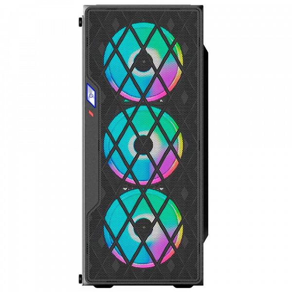 Gabinete gamer BG-037 preto bluecase s/ fonte / USB 3.0