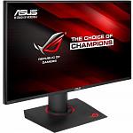 Monitor Gamer LED IPS ASUS 27, 2K WQHD, 165Hz G-Sync, Overclocável, Base Iluminada, Ergonômico, GamePlus, HDMI, DP e USB 3.0, ROG Swift - PG279Q