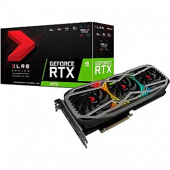 Placa de Video Galax GeForce RTX 3070 XLR8 8GB GDDR6 256BIT 14GBPS HMDI DP VCG30708TFXPPB